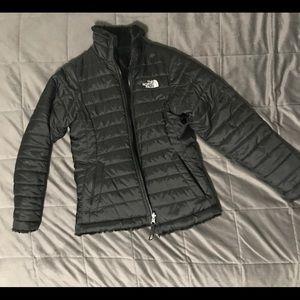 black north face jacket (girls)